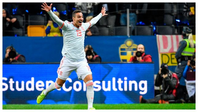 Rodrigo scored the equalizer against Spain
