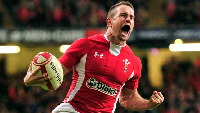 Shane Williams is Wales' leading tryscorer and has the most scores at a World Cup with six.