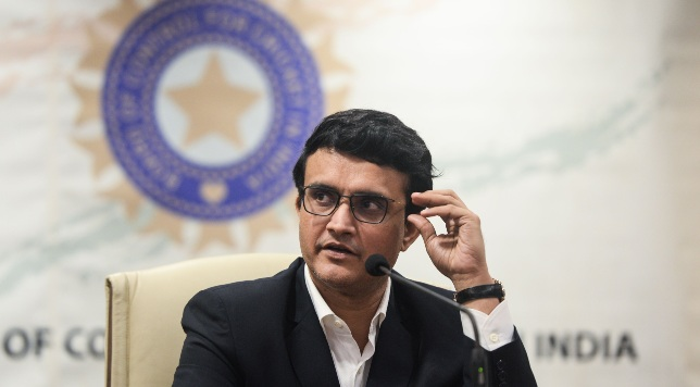 Newly elected BCCI president Sourav Ganguly.