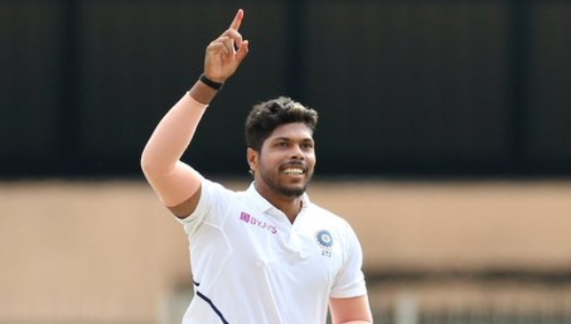 Umesh was on fire in the two Tests. Image - BCCI/Twitter.
