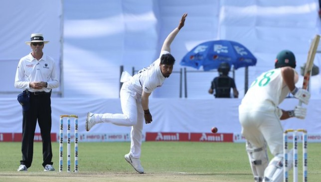 Six wickets for Umesh on his comeback Test. Image - BCCI/Twitter.