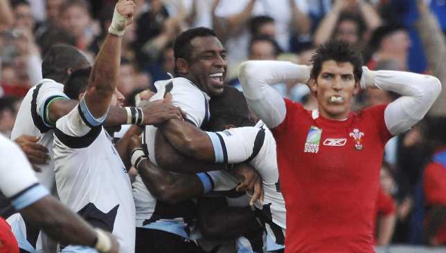 Fiji stunned Wales at the 2007 World Cup.