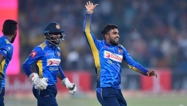 Hasaranga was Sri Lanka's star with the ball in the second T20I.