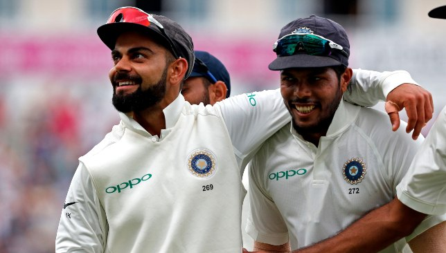 Yadav was Kohli's go-to man in India's 2016-17 home stretch.