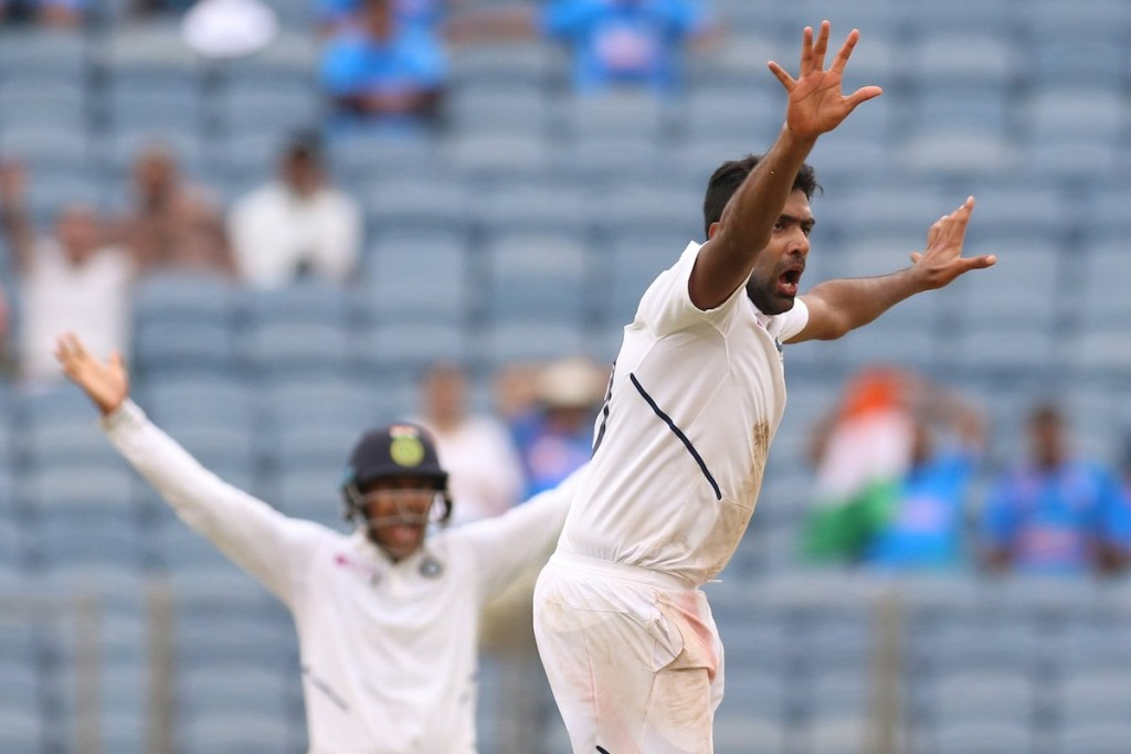 Ashwin was India's best bowler picking 4 wickets. Image Credit - BCCI/Twitter