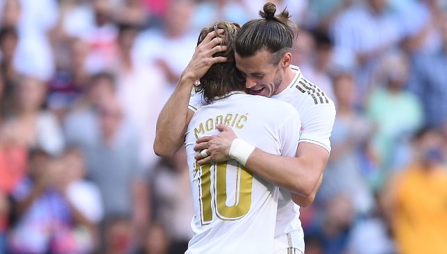Modric and Bale are teammates at Real Madrid (Photo by Denis Doyle/Getty Images)