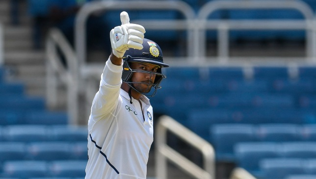 Mayank Agarwal makes it two tons in as many Tests.