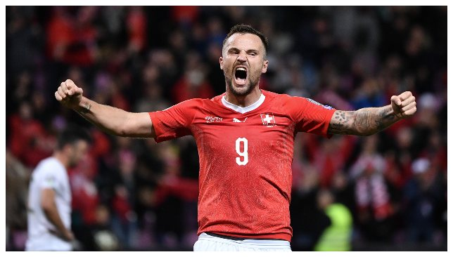 Haris Seferovic has been directly involved in 10 goals in his last 8 home games for Switzerland.