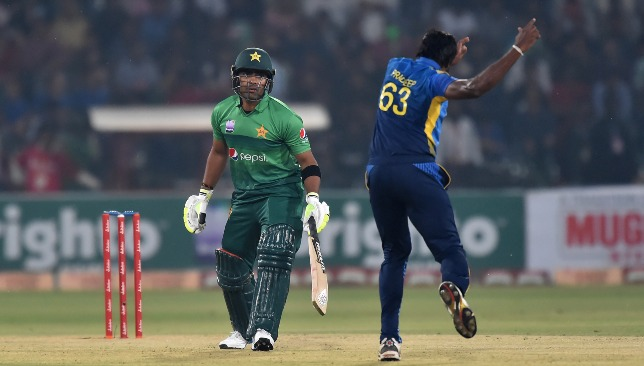 Second golden duck in a row for Umar Akmal.