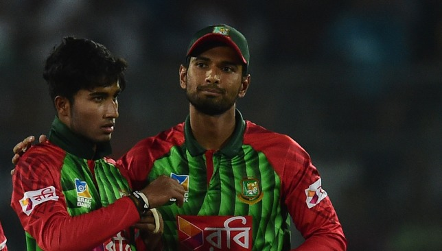 Afif (l) will look to make the most of Shakib's suspension.