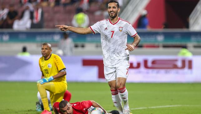 Ali Mabkhout moved on to 58 UAE goals from 81 caps.