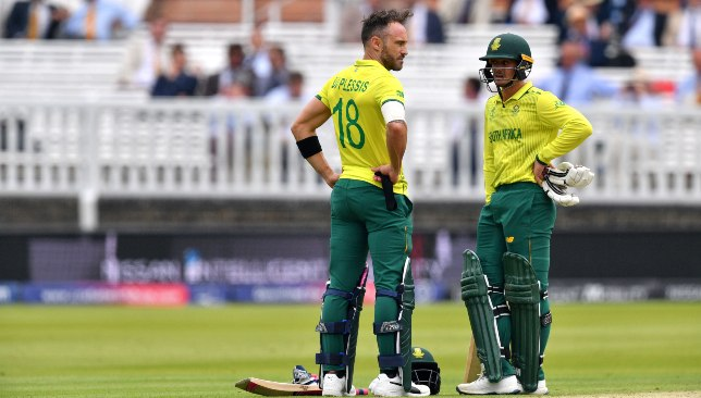 Cricket news: Quinton de Kock expecting Faf du Plessis to lead ...