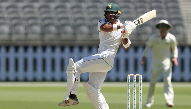 Iftikhar Ahmed top-scored in the second innings with an unbeaten knock of 79. Image - Twitter