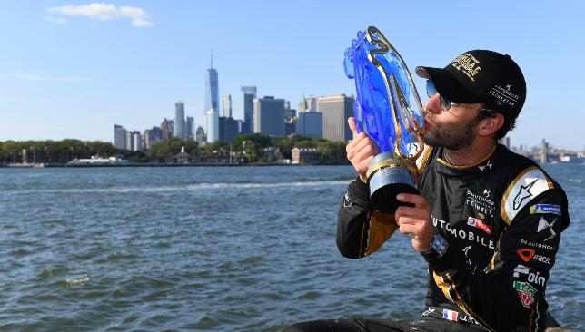 Jean-Eric Vergne is aiming for a third-straight Formula E Championship.