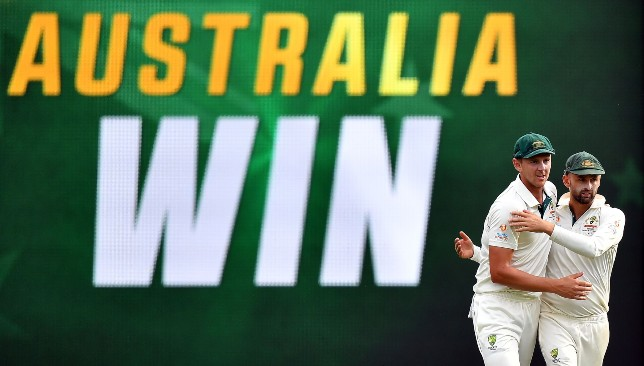Hazlewood snared four wickets to clinch the win for Australia.