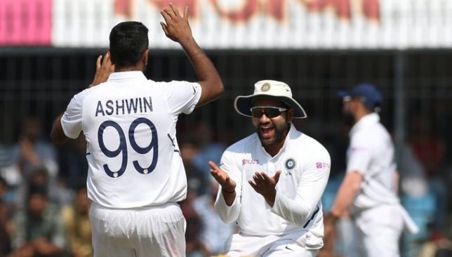 A special milestone for Ashwin. Image credit - BCCI/Twitter.