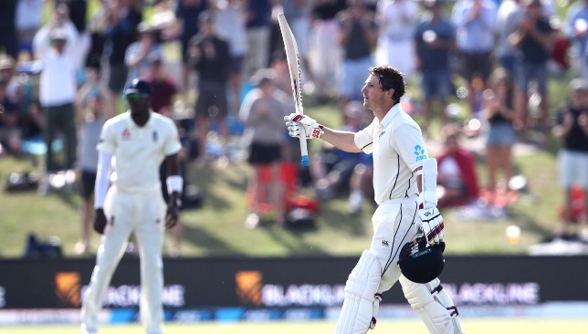 An eighth Test ton for BJ Watling.