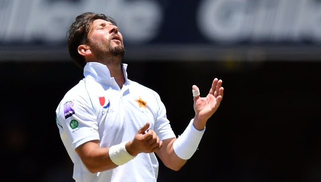 No hiding place for Yasir Shah.