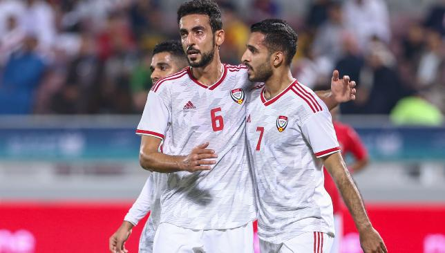 Yousef Jaber (l) is back in from the international wilderness after seven years.