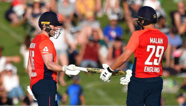 Malan and Morgan put on a six-hitting show in Napier.