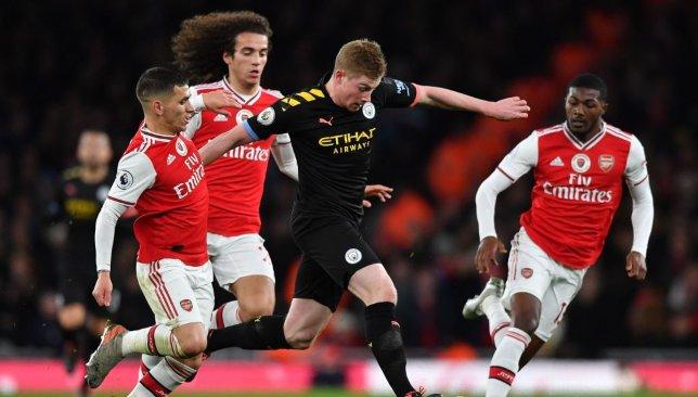 Arsenal 0 3 Man City Player Ratings As Kevin De Bruyne Demolishes Defenseless Gunners Sport360 News