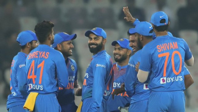 Kohli's men need to field better. Image credit - BCCI/Twitter.