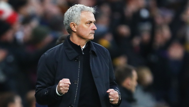 Mourinho backs Spurs for top-four Premier League finish