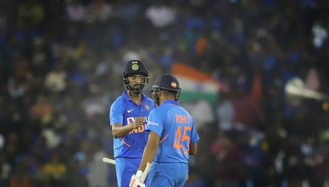 Rahul and Rohit were excellent in tandem. Image - BCCI/Twitter.
