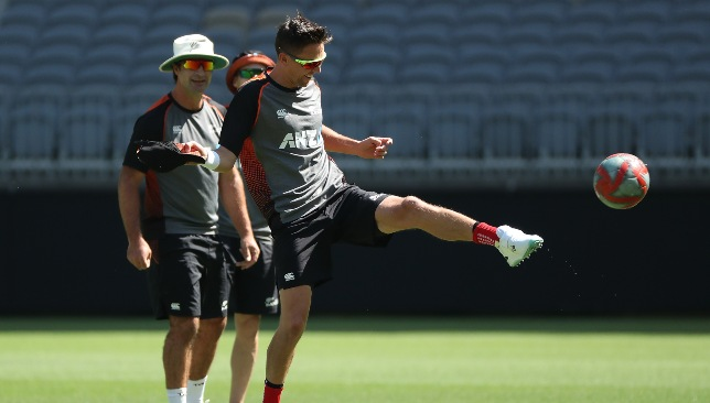 Boult did train in the nets on Wednesday.