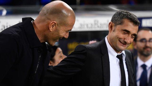 Zidane and Valverde