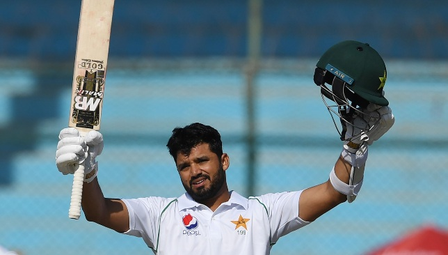 Something to smile about at last for Azhar Ali.