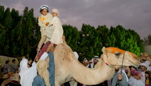 Youngest participants of the 6th edition of HHC Camel Trek.