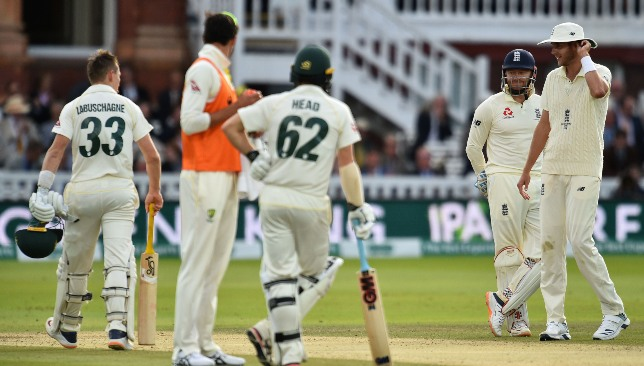 Labuschagne defied England after a fortunate comeback.