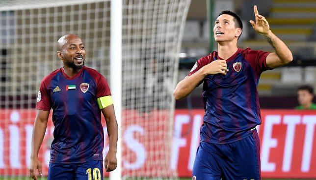 Ismail Matar and Sebastian Tagliabue (UAE Pro League).