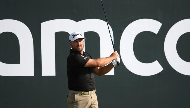 Graeme McDowell takes one-shot lead into final round at Saudi International