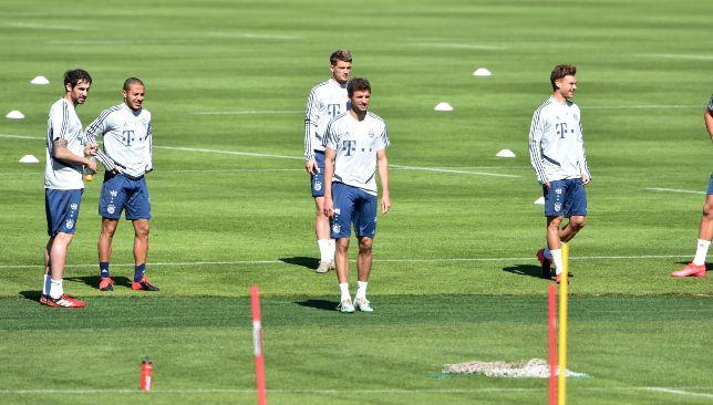 Des protocoles stricts sont en place lors de la formation du Bayern Munich.