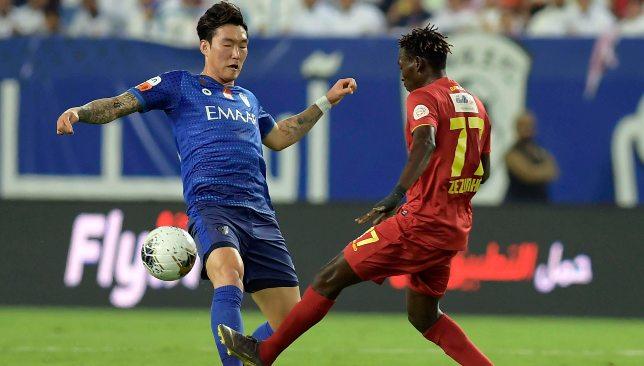 Jang Hyun-soo (l) (EPA).
