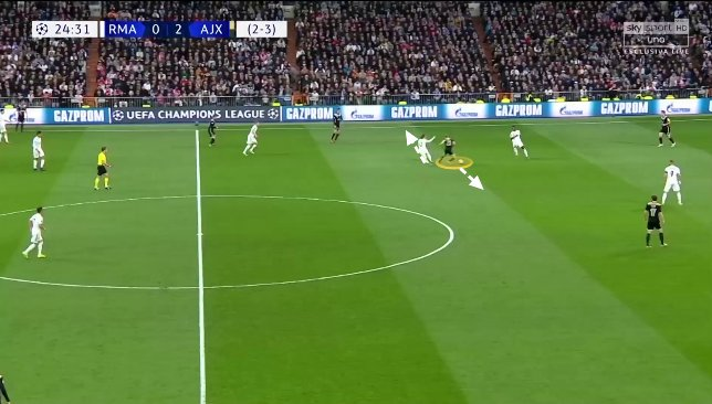 De Jong contre Real Madrid 2