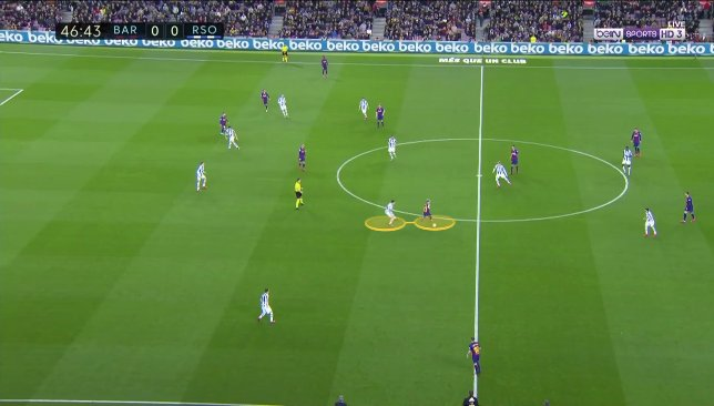De Jong contre Real Sociedad 2