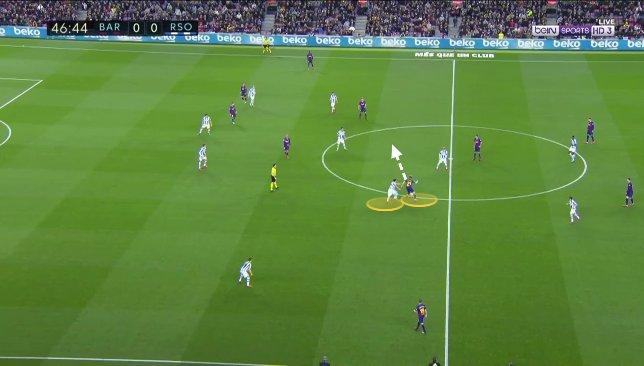 De Jong contre Real Sociedad 4