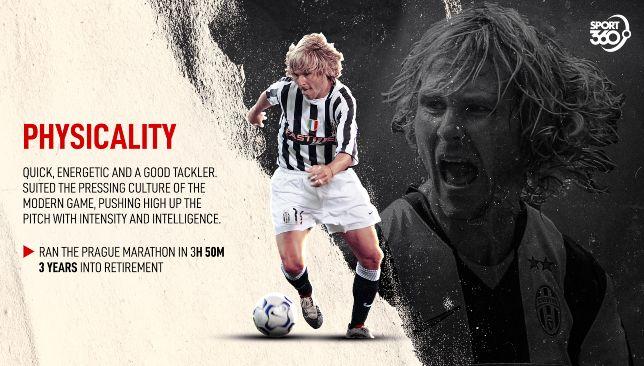 Pavel Nedved Physicality