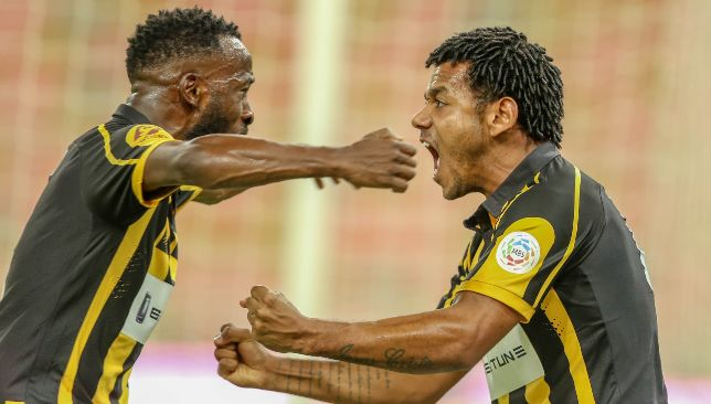 Fahad Al Muwallad (l) and Romarinho (r) (EPA).