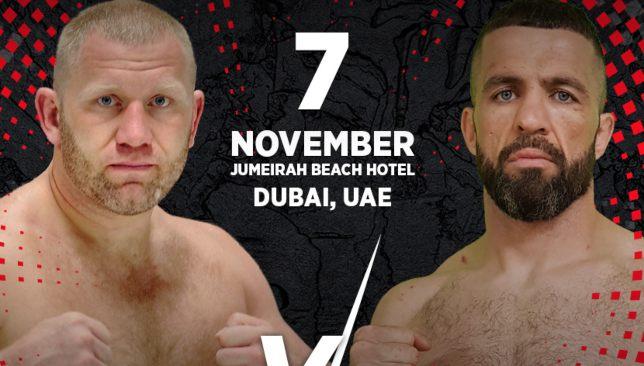 PaRus Fight Championship Dubai – The full fight card breakdown