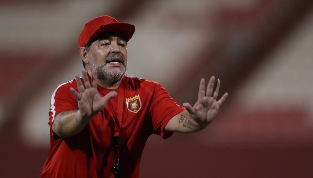 Impromptu moves, worshiping hoards and football saw Diego Maradona and UAE forge true alliance