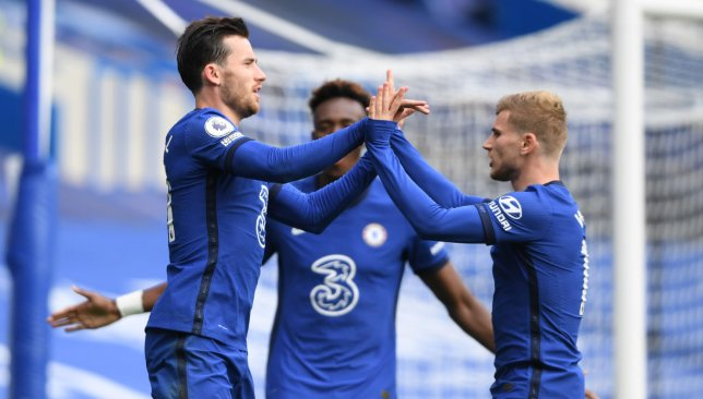 Ben Chilwell et Timo Werner