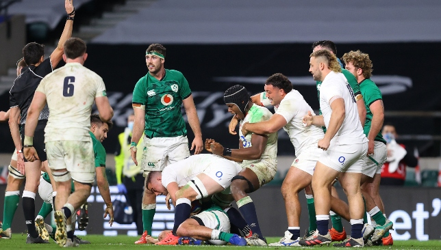 England's relentless defence key to facile victory over Ireland