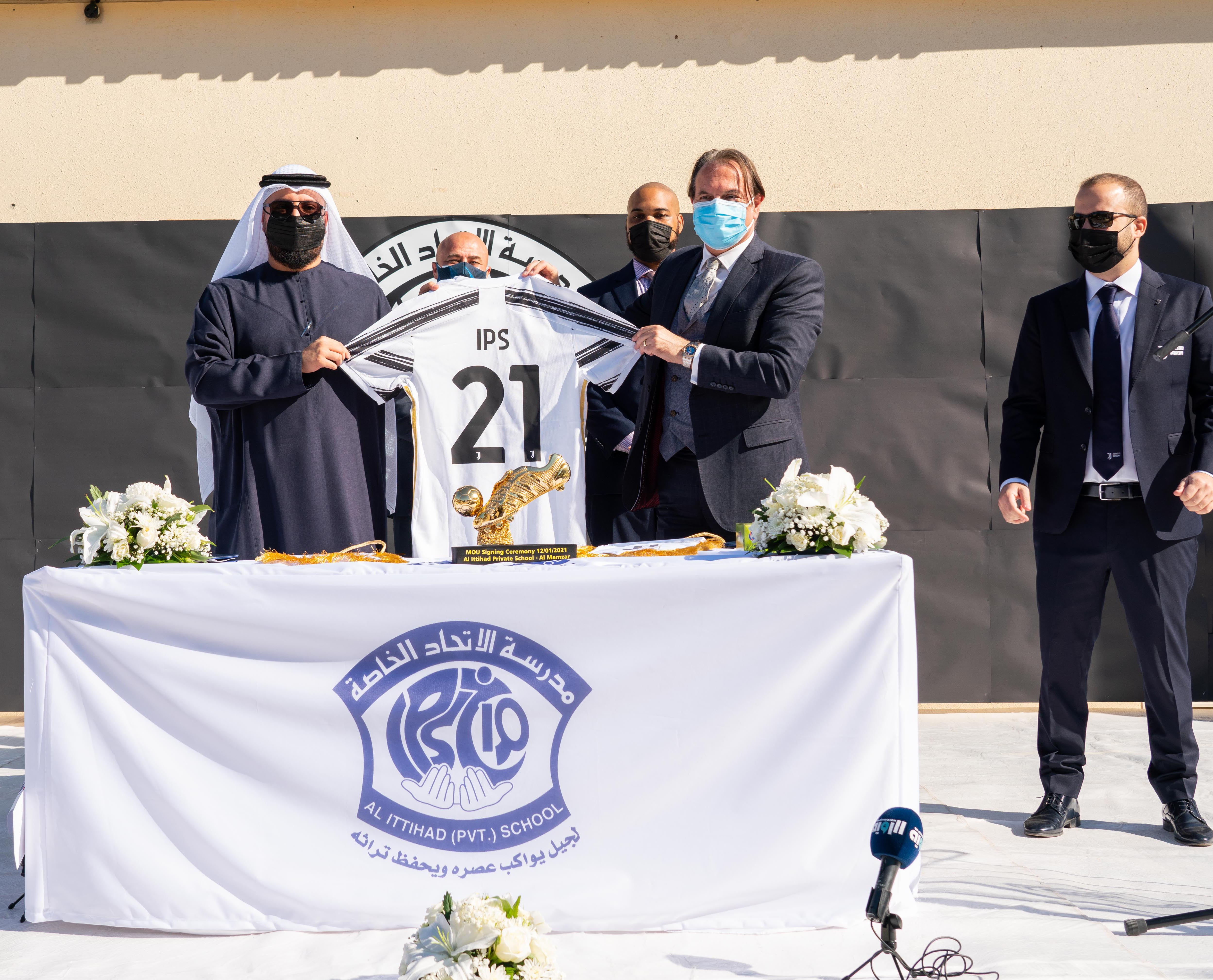 Juventus Academy expands with new partnership with Al Ittihad Private School, Al Mamzar