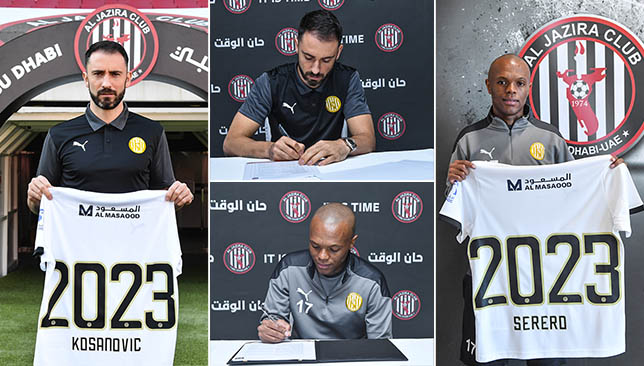 Sport News Today - Al Jazira fan favourites Milos Kosanovic and Thulani Serero extend deals until 2023 | NewsBurrow thumbnail