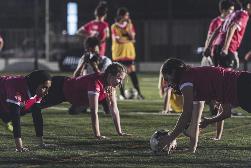 Sesiones de entrenamiento: El programa ha sido diseñado especialmente para mujeres.