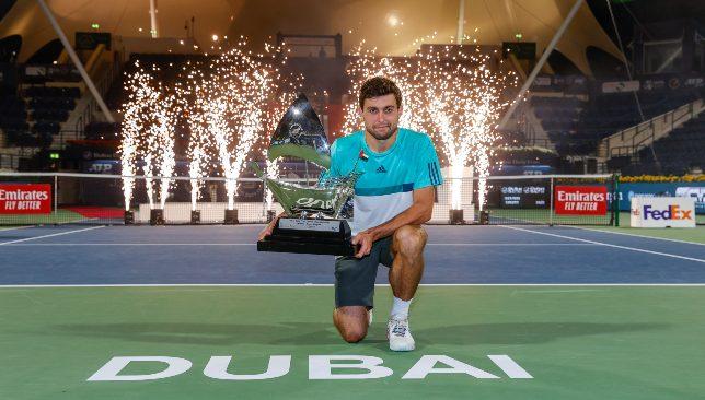Aslan Karatsev tastes Dubai Duty Free Tennis Championships glory against Lloyd Harris
